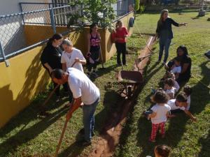 Programa A União Faz a Vida desenvolve projeto de Educação Ambiental no CMEI Belizário