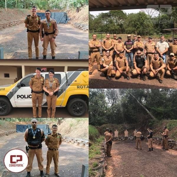 7º BPM realiza torneio de Tiro Policial em Comemoração aos 165 anos da PMPR