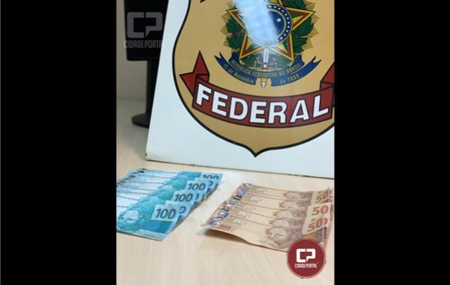 Polícia Federal prende mulher com notas falsas em Maringá
