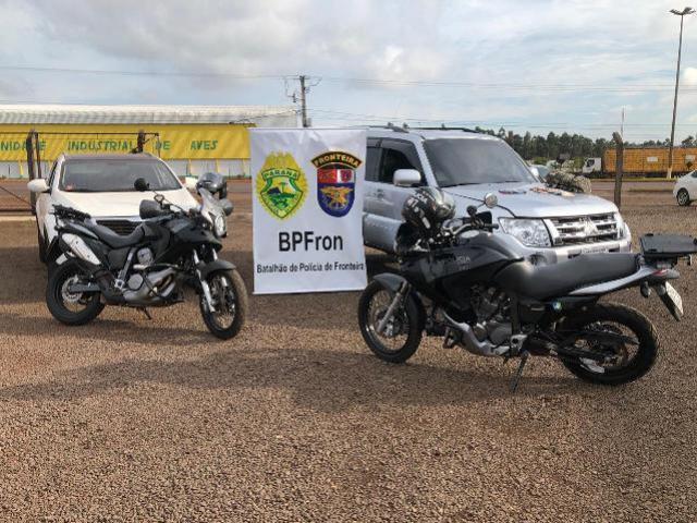 BPFRon cumpre mandado de busca e apreensão e recupera veículos roubados durante Operação MEROM