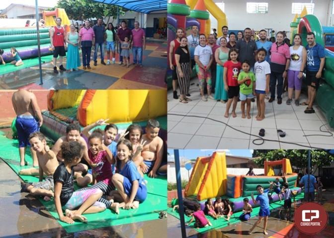 Prefeitura de Quarto Centenário e Unipar realizam Festa para as crianças