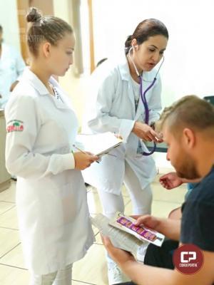 PRE de Marechal Cândido Rondon realizara exames de sangue e de pressão nas pessoas que transitavam pela PR-491