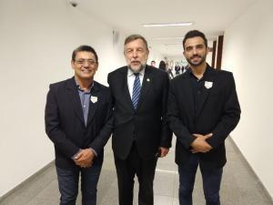 Vereadores Patrik e José Soares participaram da 18ª Marcha dos vereadores, em Brasília