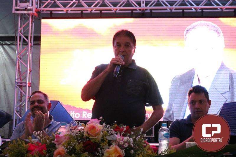 Jantar do agricultor em Quarto Centenário reuni mais de 500 convidados, prefeitos e deputados