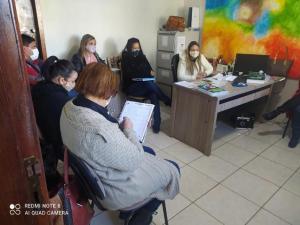 Reunião avalia o retorno presencial dos alunos na rede municipal de Goioerê
