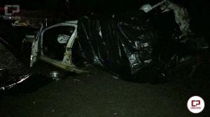 Trator com implemento agrícola causa tragédia na rodovia PR-472 e deixa saldo de 5 mortes na mesma família