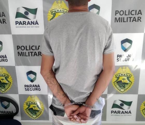 Polícia Militar de Goioerê cumpre mandado de prisão por regressão de regime