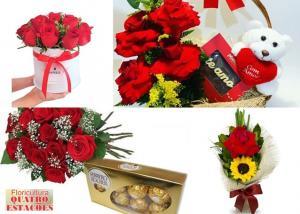 Dia das Mães chegando e aquele lindo presente você só encontra aqui, na Floricultura Quatro Estações!