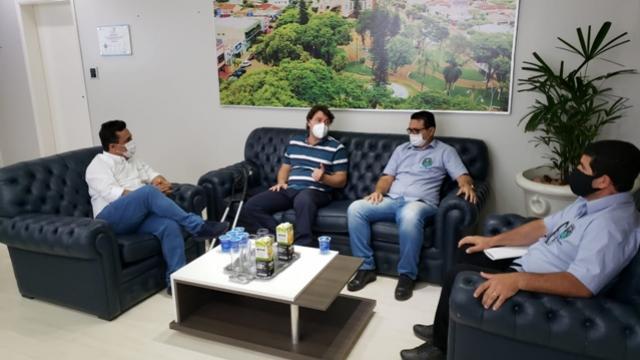Deputado Anibelli Neto visitou prefeito Betinho Lima