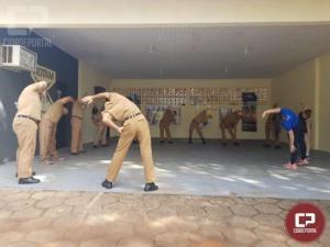 Policiais militares da 3ª CIPM participam de dia do desafio