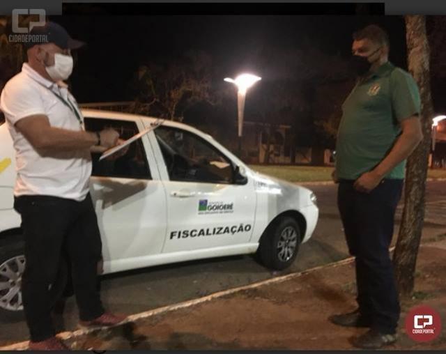 Eventos particulares e aglomerações de pessoas geram R$15 mil reais em multas no município de Goioerê