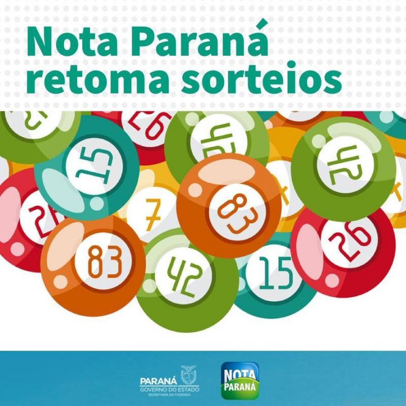 Programa Nota Paraná sorteará R$ 25 milhões em dois meses