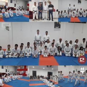Karatecas da Academia Nintai participaram do Exame de faixas