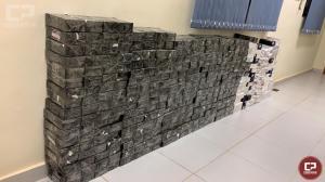 Polícia Federal apreende ônibus carregado com mercadorias contrabandeadas em Maringá