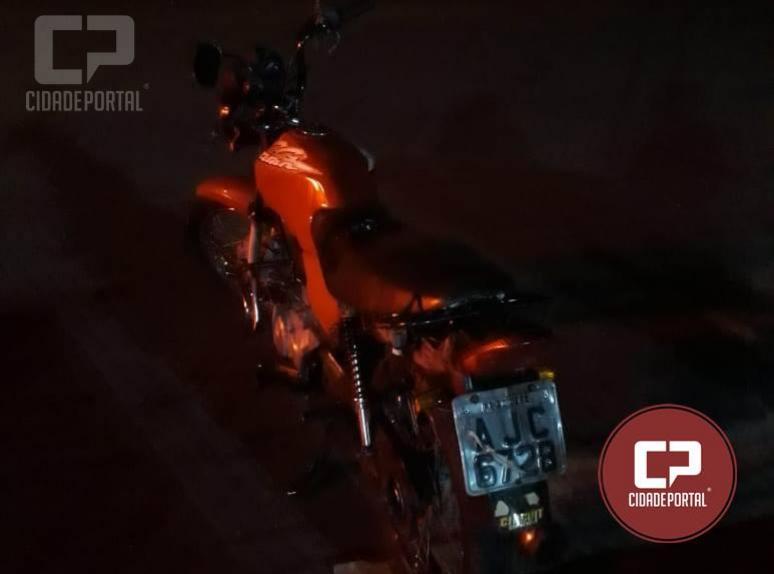 Polícia Militar de Goioerê recupera motocicleta roubada neste sábado, 27 em Goioerê