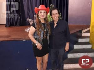 Cléo Barbosa participou do show Caim e amigos em Marília-SP