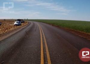 Acidente automobilístico mata tratorista na rodovia PR-180 em Quarto Centenário