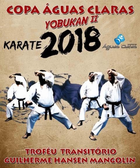 Copa Regional Águas Claras de Karate entregará troféu transitório Guilherme H. Mangolin em homenagem póstuma