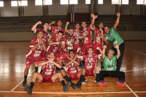 Jussara comemora bronze da Chave Prata do Campeonato Paranaense de Handebol Adulto