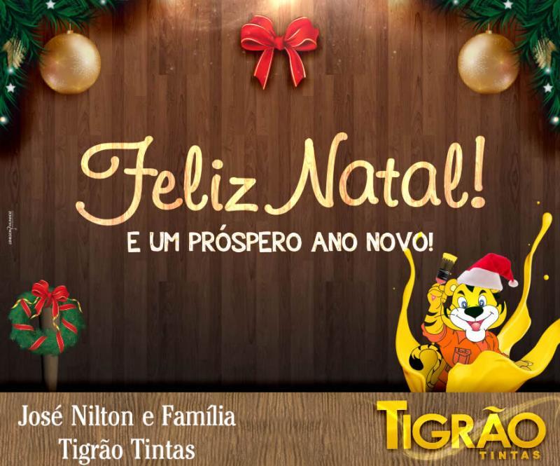 A Família Tigrão Tintas deseja que 2019 seja um ano de muitas conquistas!