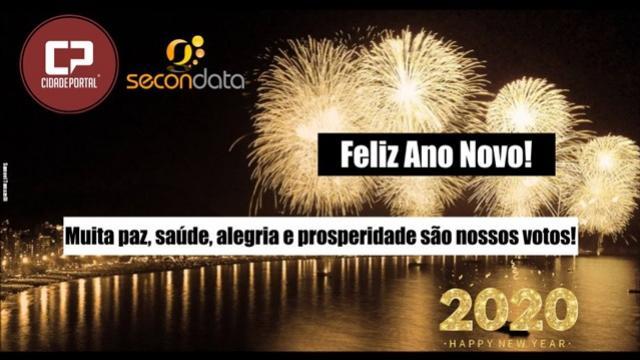 A Família Cidade Portal deseja a todos um Feliz Ano Novo e um 2020 repleto de alegrias!