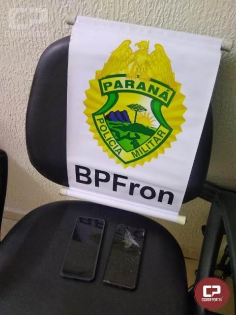 BPFRON prende maior e apreende indivíduo menor após roubo em Foz do Iguaçu/PR