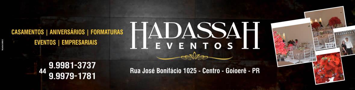 Hadassah Eventos - Principal
