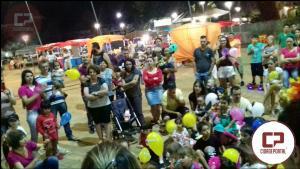 Acadêmicos do 6ºperíodo dePedagogia da Faculdade Dom Bosco, encantam em espetáculo na Feira da Lua nesta sexta-feira,01.