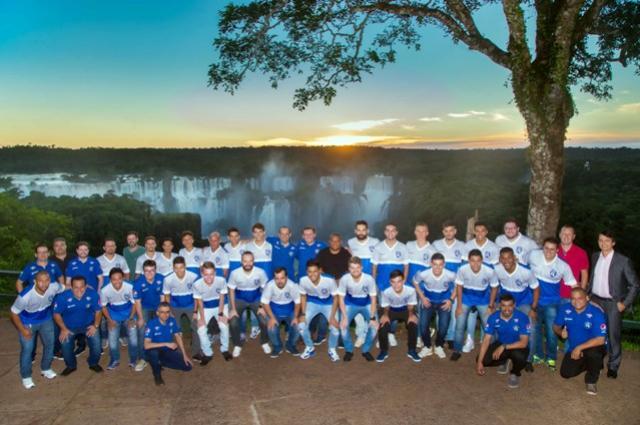 Diretoria do Foz Cataratas realiza encontro com Marcelo Rodrigues em Foz do Iguaçu