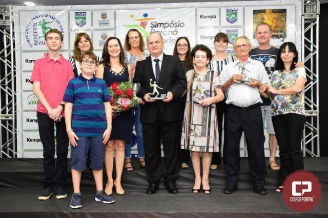 Jair Grasso é homenageado com prêmio Mérito Esportivo pela LHPR