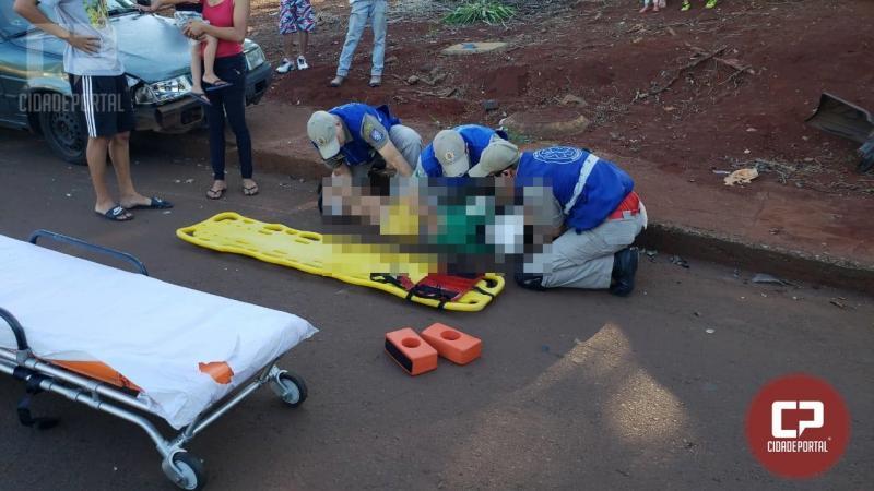 Criança de 10 anos foi atropelada no Jardim Tropical em Campo Mourão