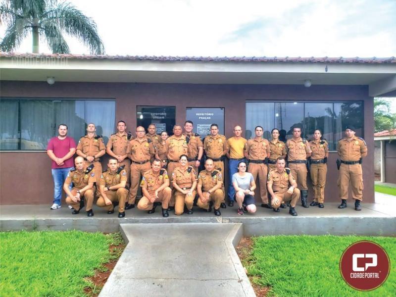 Após 35 anos de serviços prestados a PMPR, Major é Homenageado em Campo Mourão