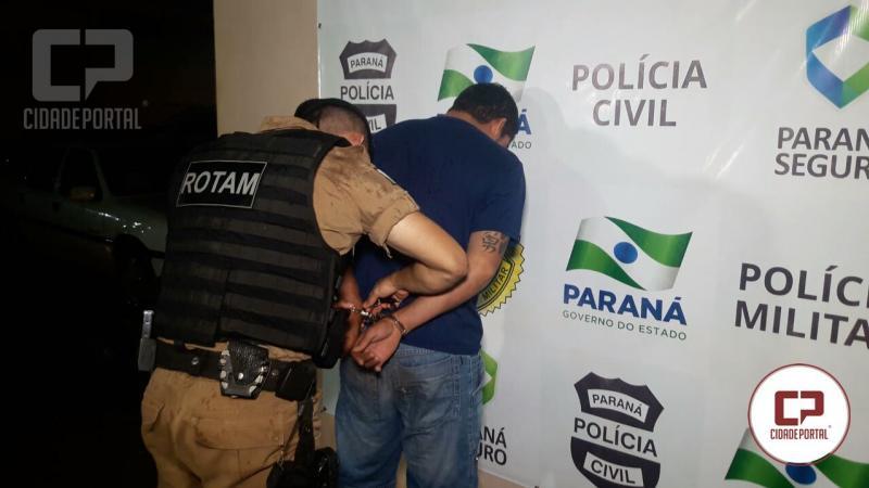 Rotam de Campo Mourão prende uma pessoa com documentos falsos e mandado de prisão