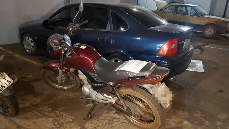 Suspeito de homicídio é identificado e dois veículos são apreendidos em Campo Mourão