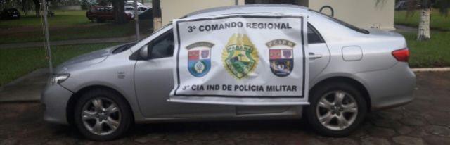 Automóvel roubado em Loanda é recuperado em estrada rural