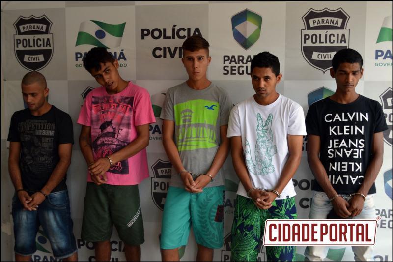 Operação Guadalupe entre a Polícia Militar e Polícia Civil prende acusados de roubos em comércio de Goioerê