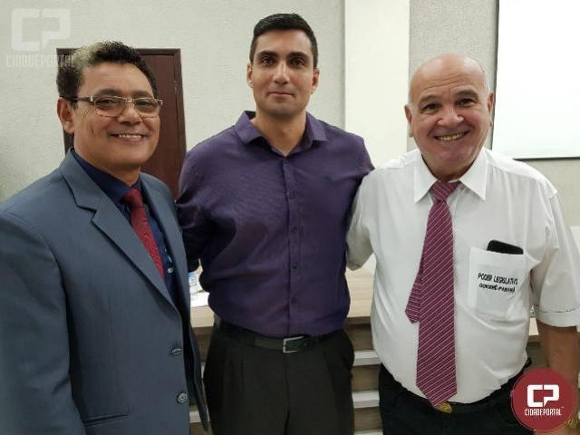 Câmara de Goioerê aprova Título de Mérito Policial para o Capitão da Polícia Militar, Renato M. E. Santo