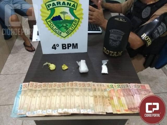 Polícia Militar prende traficante após denúncia em Maringá