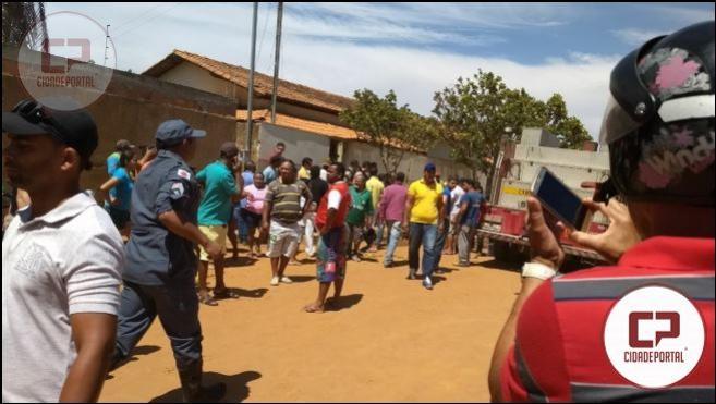 Segurança coloca fogo em creche e causa morte de crianças em Janaúba