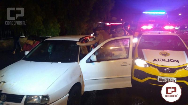 Militares estaduais fazem parto de gestante dentro de veículo em Londrina