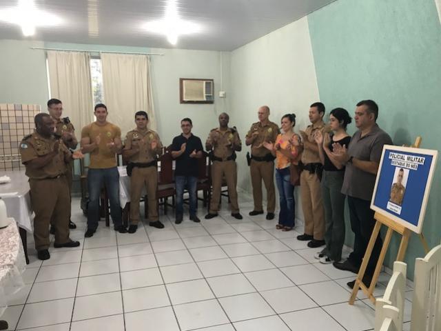 7° BPM realiza café da manhã para homenagear e parabenizar Policiais Militares em Cruzeiro do Oeste