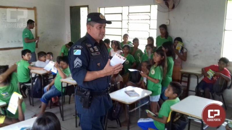 Japorã no mato Grosso do Sul recebe o Projeto Pequenos Agentes