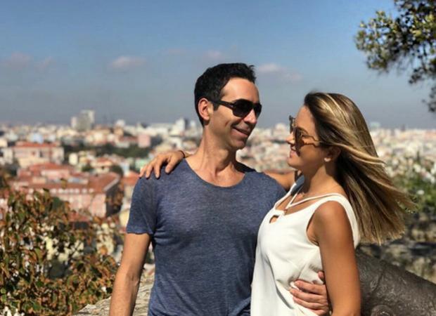 Ticiane Pinheiro e César Tralli curtem feriado na Europa