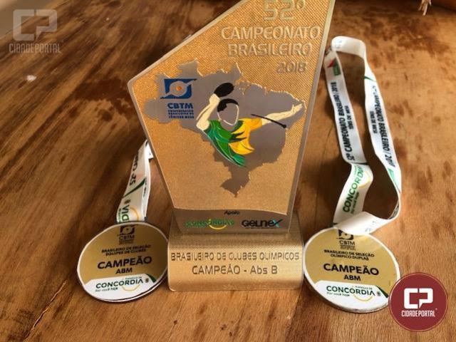 Tênis de Mesa de Goioerê brilha em competição nacional no 52º campeonato Brasileiro de Tênis de Mesa