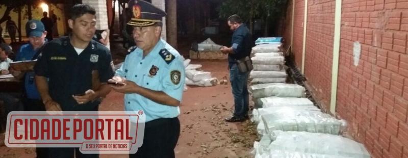 Polícia paraguaia apreende 30 toneladas de dinheiro na fronteira