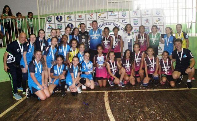 Curitiba e Palmeira conquistam ouro no Festival Paranaense de Handebol