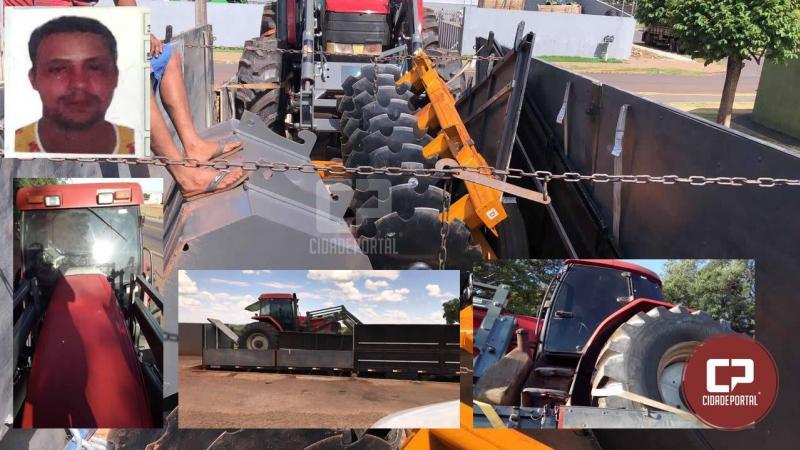 Empresa de Goioerê foi vítima de falso caminhoneiro que some com 100 mil em máquinas agrícolas