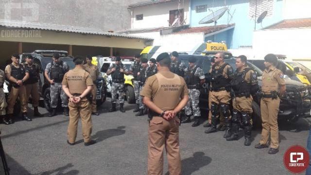 4° Batalhão da Polícia Militar lança a operação Mandaguari Segura