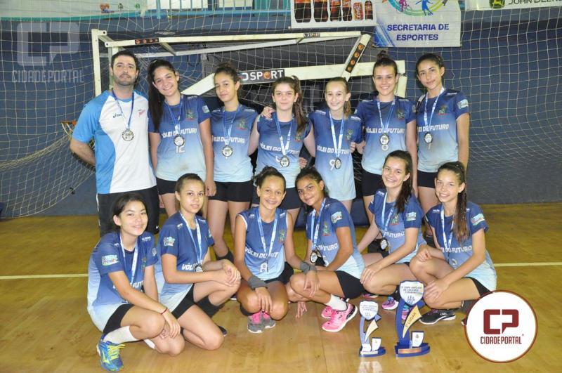 Voleibol de Juranda conquista terceira colocação na etapa de abertura da Copa Amizade