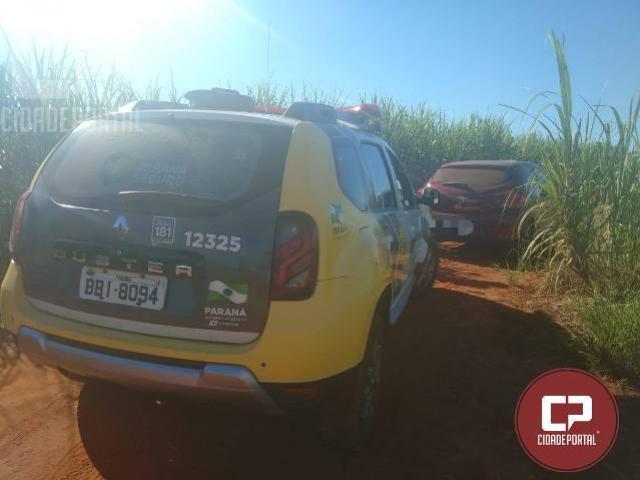 Polícia Militar da 3ª CIPM recupera veículo que havia sido subtraído em Diamante do Norte